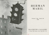 Herman Maril; February 16th-March 6th, 1948 : Macbeth Gallery