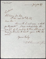 C.P. Huntington letters to Samuel P. Avery, 1897