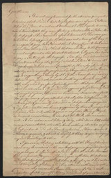 Thomas Malton letter to the Society of Artists of Great Britain, 1772
