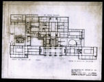 Second floor, floor plan. Drawing number 5. May 1, 1944. R. B. O'Connor and Aymar Embury II,...